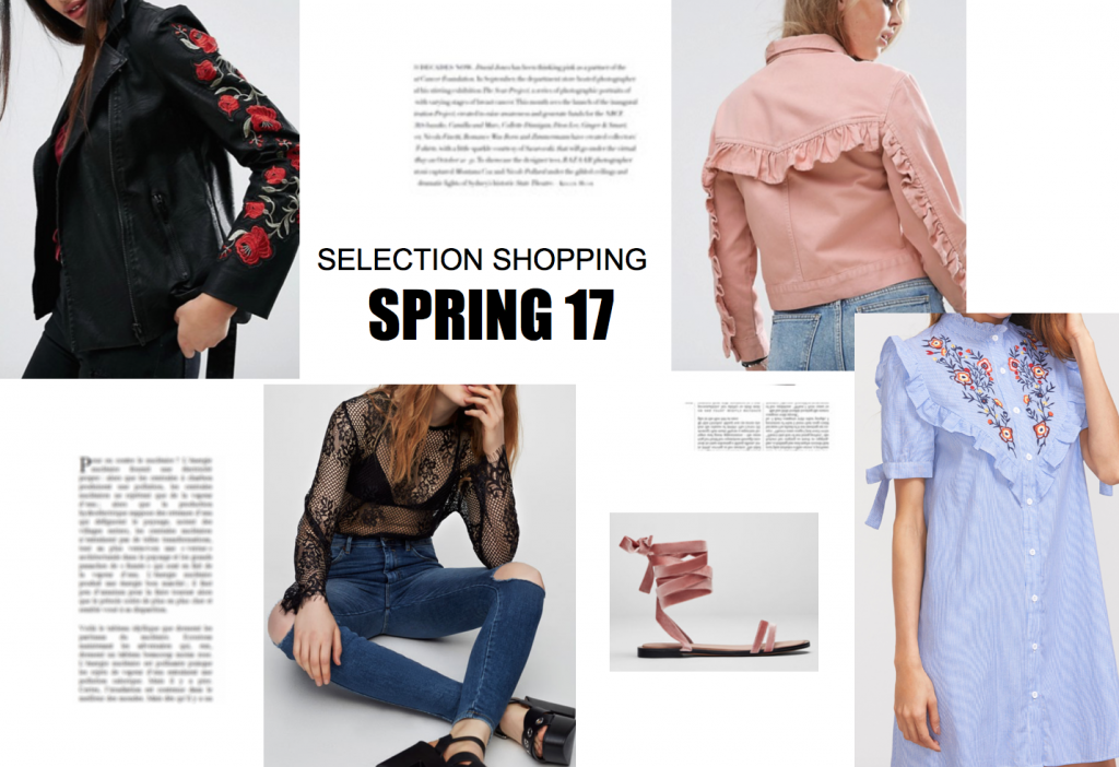 SELECTION SHOPPING – PRINTEMPS