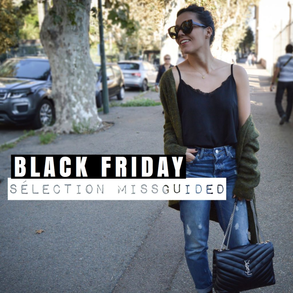 BLACK FRIDAY – MA SELECTION MISSGUIDED -50% sur tout