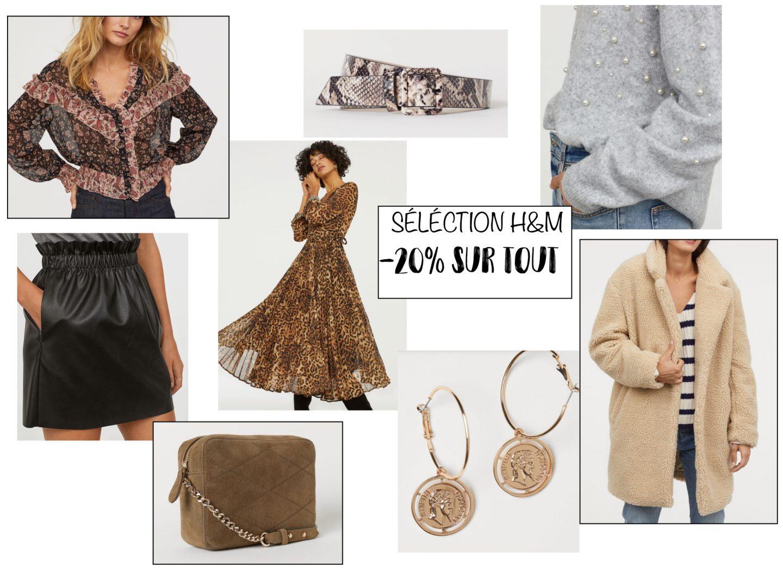 -20% SUR H&M #SELECTION