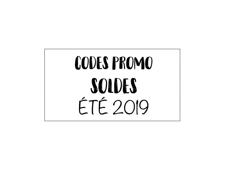 CODES PROMO SUMMER 2019