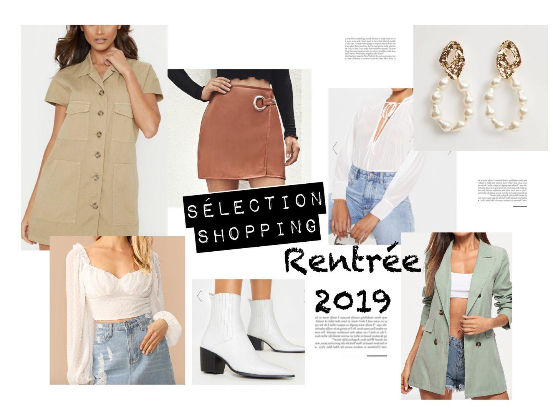 SÉLÉCTION SHOPPING – RENTRÉE 2019/2020 !