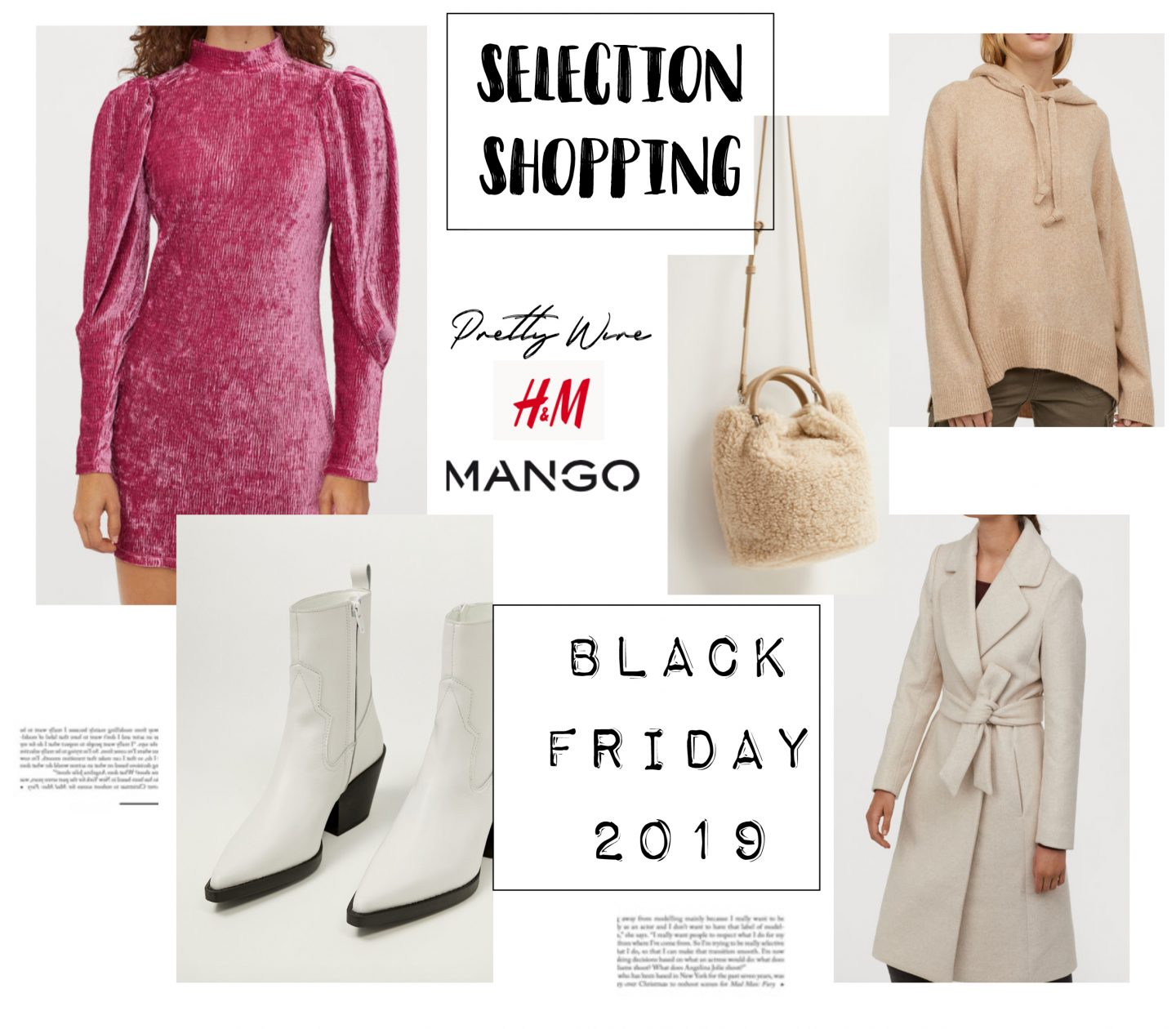 SÉLÉCTION SHOPPING – BLACK FRIDAY