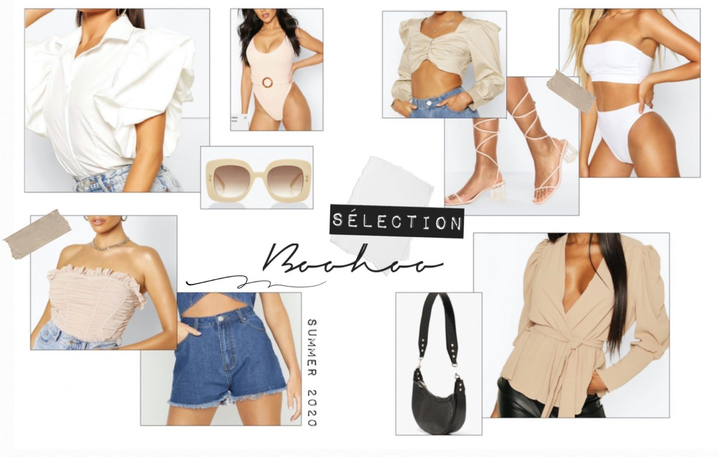 SÉLÉCTION BOOHOO SUMMER 2020