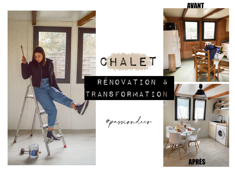 LE CHALET – TRANSFORMATION & TRAVAUX